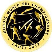 Belarus 50 Roubles FIS Nordic World Ski Championships Lahti 2017 Proof FIS NORDIC WORLD SKI CHAMPIONSHIP LAHTI 2017 coin reverse
