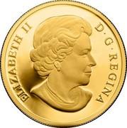 Canada 500 Dollars 100 Years of the Calgary Stampede 2012 Proof ELIZABETH II D • G • REGINA SB coin obverse