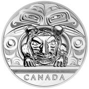 Canada 500 Dollars Argillite Chest 2016 Proof CANADA coin reverse