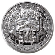Canada 500 Dollars The Dance Screen 2015 Proof CANADA coin reverse