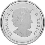 Canada 8 Dollars Lion Dance 2017 Matte Proof ELIZABETH II CANADA D ∙ G ∙ REGINA coin obverse