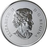Canada 8 Dollars Peaceful Panda - A Gift of Friendship 2018 BU ELIZABETH II D • G • REGINA SB coin obverse