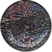Australia 8 Dollars Rare Earth 2018 RARE EARTH coin reverse
