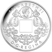 Canada 8 Dollars Tiger and Dragon Yin and Yang 2016 Proof KM# 2113 ELIZABETH II D ∙ G ∙ REGINA coin obverse