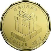 Canada Dollar Birthday Gift 2017 CANADA DOLLAR 2017 coin reverse