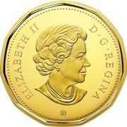 Canada Dollar Common Loon - Loonie 2018 P Proof ELIZABETH II D • G • REGINA SB P coin obverse