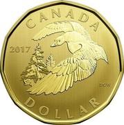 Canada Dollar Snow Goose 2017 CANADA 2017 DOLLAR DCW coin reverse