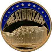 UK ECU Great Britain 1998 GREATBRITAIN coin obverse