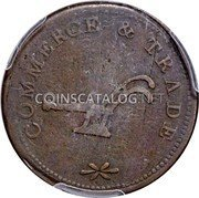 Canada Half Penny (Commerce & Trade) COMMERCE & TRADE coin reverse