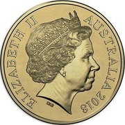Australia Two Dollars (First centenary of Armistice) ELIZABETH II AUSTRALIA 2018 IRB coin obverse