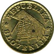 Slovenia 0.02 Lipe 1992 UNC X# Tn5 Standart Coinage REPUBLIKA SLOVENIJA coin obverse