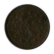 Canada 1/2 Penny T Duseaman Butcher Belleville ND T. DUSEAMAN BUTCHER * BELLEVILLE * coin obverse