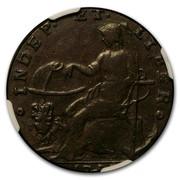USA 1 Cent Auctori Plebis Token 1787 INDEP ET LIBER coin reverse