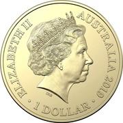 Australia 1 Dollar Australian Bushrangers 2019 B ELIZABETH II AUSTRALIA 2019 • 1 DOLLAR • JC coin obverse