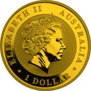 Australia 1 Dollar Australian Koala 2013 P BU KM# 1979c ELIZABETH II AUSTRALIA • 1 DOLLAR • IRB coin obverse