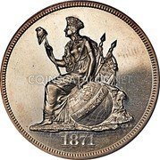 USA 1 Dollar (Standard Pattern) LIBERTY *YEAR* coin obverse