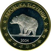 Slovenia 1€ (Trial Probe) X# Pn7 REPUBLIKA SLOVENIJA 2004 coin obverse