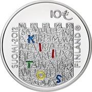 Finland 10 Euro Arvo Ylppo and Medicin 2012 M Proof KM# 187 SUOMI FINLAND 2012 10€ coin obverse