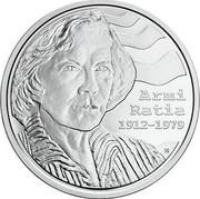 Finland 10 Euro Birth of Armi Ratia 2012 Proof KM# 188 ARMI RATIA 1912-1979 coin obverse