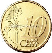 Finland 10 Euro Cent 1999 M Proof KM# 101 Euro Coinage coin reverse