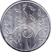 Finland 10 Euro Council of State 2009 P KM# 173 10 € coin reverse