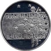 Finland 10 Euro Finnish Film Art 2005 P-M KM# 122 SUOMI FINLAND SUO 10 EURO 10 EURO 1 coin obverse