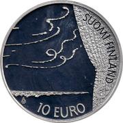 Finland 10 Euro Frederik Pacius 2009 M KM# 148 10 EURO SUOMI FINLAND coin obverse