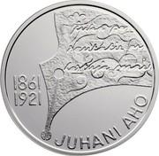 Finland 10 Euro Juhani Aho 2011 P KM# 168 JUHANI AHO P 1861 1921 coin reverse