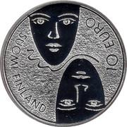 Finland 10 Euro Parlimentary Reform 2006 M M-M KM# 132 10 EURO SUOMI FINLAND coin reverse