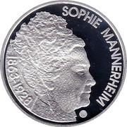Finland 10 Euro Sophie Mannerheim and Finnish Health Care 2013 KM# 202 SUOMI FINLAND 2013 10 € L coin obverse