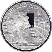 Finland 10 Euro Sophie Mannerheim and Finnish Health Care 2013 KM# 202 SOPHIE MANNERHEIM 1863 - 1928 coin reverse