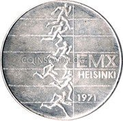 Finland 10 Markkaa 1971 S-H KM# 52 Reform Coinage coin obverse