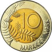 Finland 10 Markkaa 1993 M KM# 77 Reform Coinage 10 MARKKAA MARK coin reverse