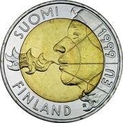 Finland 10 Markkaa EU Presidency 1999 M KM# 91 SUOMI FINLAND 1999 EU coin obverse