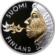 Finland 10 Markkaa Finnland's Presidency of EU 1999 KM# 91a SUOMI 1999 EU FINLAND coin obverse