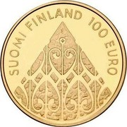 Finland 100 Euro 200th Anniversary - Diet of Porvoo 2009 P Proof KM# 145 SUOMI FINLAND 100 EURO coin obverse