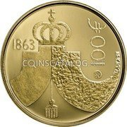 Finland 100 Euro 2013 Proof KM# 203 Euro Coinage coin obverse