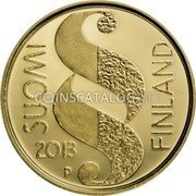 Finland 100 Euro 2013 Proof KM# 203 Euro Coinage coin reverse