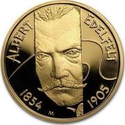 Finland 100 Euro Albert Edelfelt 2004 T Proof KM# 175 ALBERT EDELFELT 1854 M 1905 coin reverse