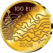 Finland 100 Euro Finnish War and the Birth of Autonomy 2008 P Proof KM# 174 100 EURO 2008 coin obverse