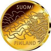 Finland 100 Euro Finnish War and the Birth of Autonomy 2008 P Proof KM# 174 SUOMI P FINLAND coin reverse