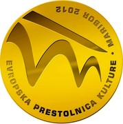 Slovenia 100 Euro Maribor - European Capital of Culture 2012 Proof KM# 116 100 EURO SLOVENIJA 2012 coin obverse
