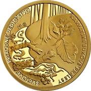 Slovakia 100 Euro Primeval Beech Forests of the Carpathians 2015 MK Proof SVETOVÉ PRÍRODNÉ DEDIČSTVO KARPATSKÉ BUKOVÉ PRALESY MP MK coin reverse