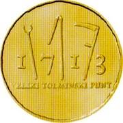 Slovenia 100 Euro Tolmin Peasant Revolt 2013 Proof KM# 114 1713 VELIKI TOLMINSKI PUNT coin reverse