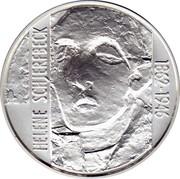 Finland 100 Markkaa Helene Schjerfbeck 1996 T-M KM# 83 100 MK SUOMI FINLAND 1996 coin obverse