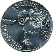 Finland 100 Markkaa Jean Sibelius 1999 P-V-M KM# 89 FINLAND SIBELIUS coin obverse