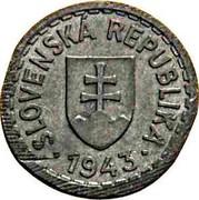 Slovakia 10h Trial Strike 1943  SLOVENSKÁ REPUBLIKA ∙ 1943 ∙ coin obverse