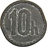 Slovakia 10h Trial Strike 1943  10H coin reverse