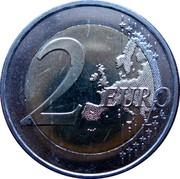 Slovenia 2 Euro 10th Anniversary of the European Monetary Union 2009 KM# 82 2 EURO LL coin reverse