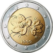 Finland 2 Euro 1st map 1999 M Proof KM# 105 coin obverse